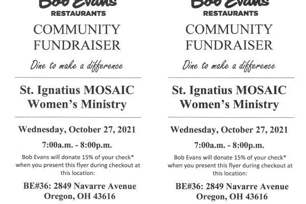 Bob Evans's Fundraiser